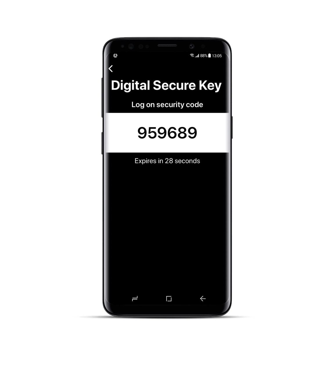 Get a Secure Key | first direct