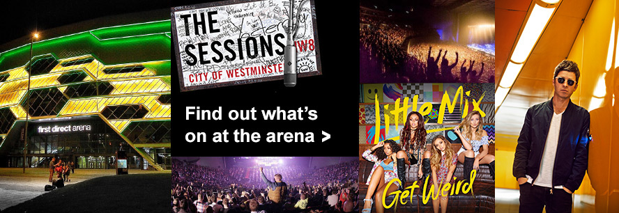 Find out what's on at the arena.
