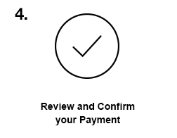 Review and Confirm your Payment.